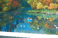 Central Park Fall Limited Edition Print by Alexander Chen - 6