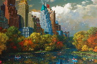 Central Park Fall Limited Edition Print by Alexander Chen - 3
