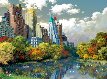Central Park Fall Limited Edition Print - Alexander Chen