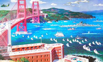Golden Gate Limited Edition Print - Alexander Chen