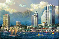 Chens 3 Great Cities 2004 Set of 3 Limited Edition Print by Alexander Chen - 0