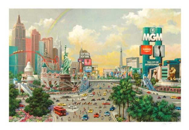 Las Vegas, The Strip 2005 Limited Edition Print by Alexander Chen