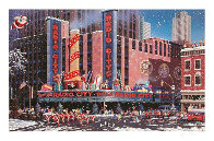 Santa Comes To New York Limited Edition Print by Alexander Chen - 0
