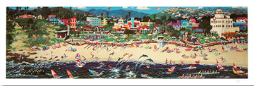 Weekend In Laguna Beach 1993  (California) Limited Edition Print - Alexander Chen