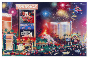 Great Escape and Boulevard of Dreams, Set of 2  2000 Limited Edition Print by Alexander Chen