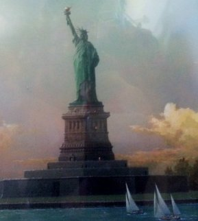 Liberty Island 2013 Limited Edition Print by Alexander Chen