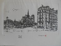 Notre Dame Winter Remarque 2008 Limited Edition Print by Alexander Chen - 2