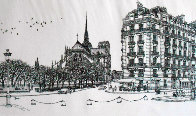 Notre Dame Winter Remarque 2008 Limited Edition Print by Alexander Chen - 0