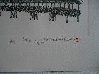 Chapel Bridge Lucerne w remarque 2008 Limited Edition Print by Alexander Chen - 3