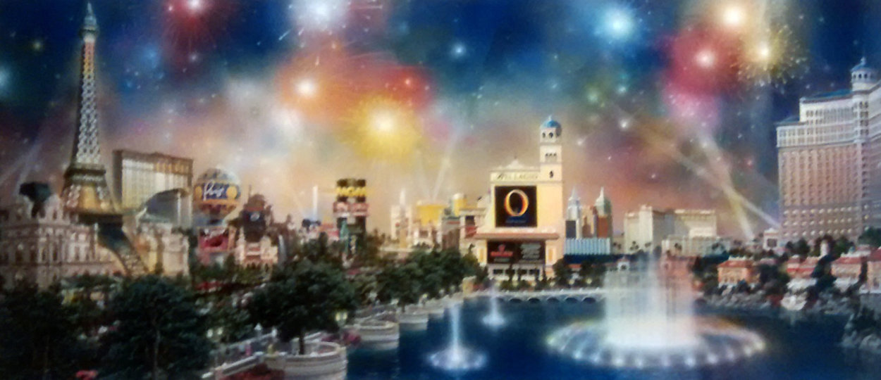 Las Vegas Panorama 2006 Limited Edition Print by Alexander Chen