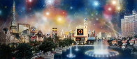 Las Vegas Panorama 2006 Limited Edition Print by Alexander Chen - 0