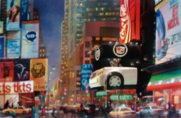Times Square 47th St., New York 2006 Limited Edition Print - Alexander Chen
