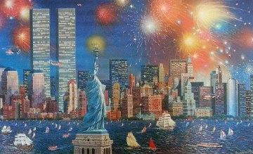 Manhattan Celebration 3-D 2006 Limited Edition Print by Alexander Chen