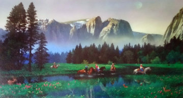 Yosemite  Cowboys  2000 Limited Edition Print - Alexander Chen