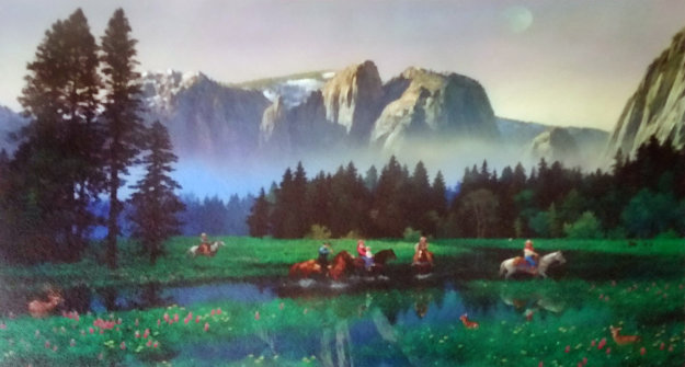Yosemite  Cowboys  2000 Limited Edition Print by Alexander Chen