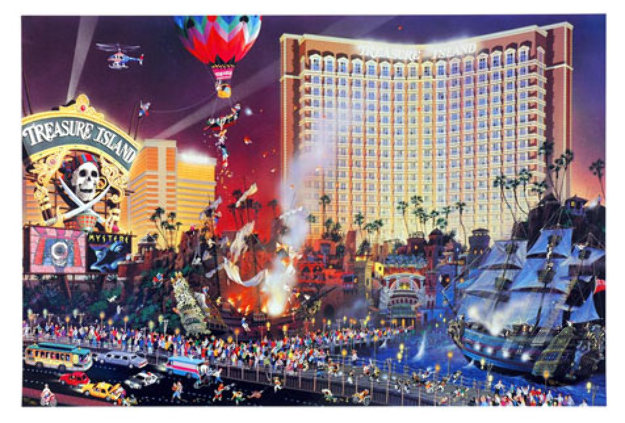 Boulevard Of Dreams and The Great Escape Set of 2 Limited Edition Print by Alexander Chen