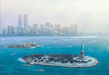 New York Gateway, Winter 2003 Limited Edition Print by Alexander Chen