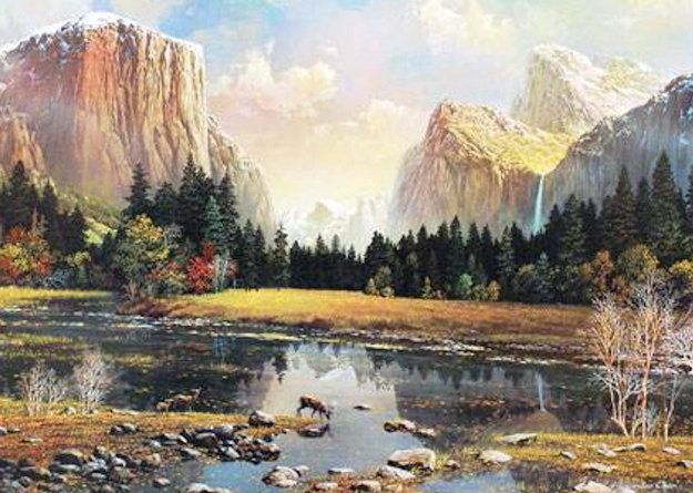 Yosemite Splendor 2009 Limited Edition Print by Alexander Chen