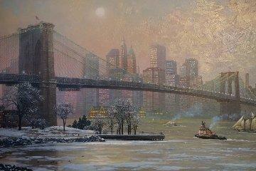 Brooklyn Bridge Camber Embellished 2013 Limited Edition Print - Alexander Chen
