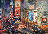 An Evening in Time Square Embellished 2013 Limited Edition Print by Alexander Chen - 0