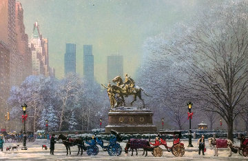 Central Park South 2004 Limited Edition Print by Alexander Chen