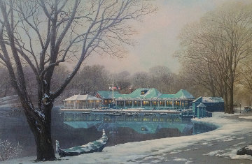 Loeb Boathouse Central Park 2007 Limited Edition Print - Alexander Chen