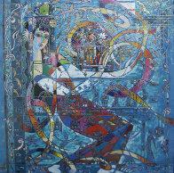 Silk Ribbon Dance 1988 Limited Edition Print by Ji Cheng - 0