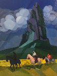 Coming Home Landscape Painting  Original Painting - Constantine Cherkas