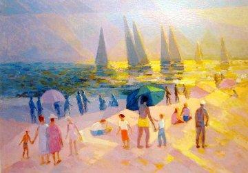 Summer in Laguna Beach Limited Edition Print by Constantine Cherkas