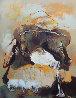 Bag With Spilled Milk 71x55 Super Huge Original Painting by Viktor Chernilevsky - 0