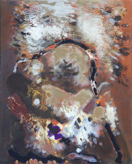Bag And Snow 29x23 Original Painting by Viktor Chernilevsky