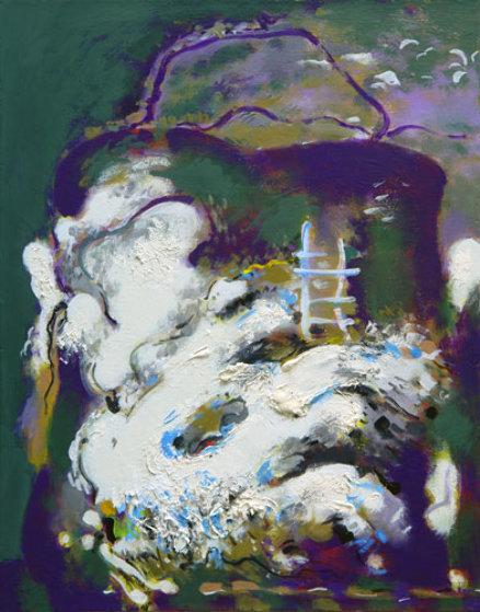 Green Bag 30x23 Original Painting by Viktor Chernilevsky