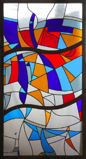 Stained Glass Window Unique 2007 70x36 Other - Viktor Chernilevsky
