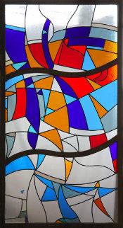 Stained Glass Window Unique 2007 70x36 Huge  Other - Viktor Chernilevsky