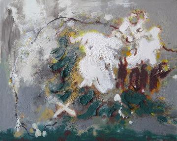 Sower 2009 23x30 Original Painting - Viktor Chernilevsky