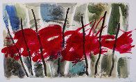 Seven Watercolor 2005 14x24 Watercolor by Viktor Chernilevsky - 0