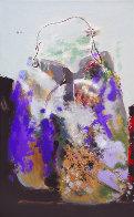 Purple Bag 2008 51x32 Super Huge Original Painting by Viktor Chernilevsky - 0