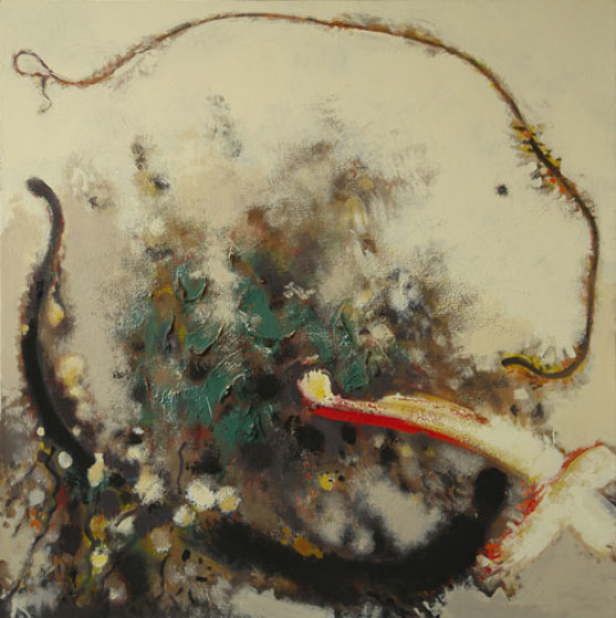 Master 2009 43x44 Original Painting by Viktor Chernilevsky