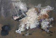 Running Figure 24x35 Original Painting by Viktor Chernilevsky - 0