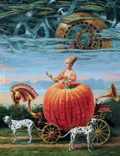 Time to Be a Queen 2016 Limited Edition Print - Michael Cheval