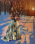 Love Hunter II 2000 Limited Edition Print - Michael Cheval