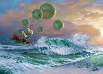 Flying Dutchman 2001 Limited Edition Print - Michael Cheval