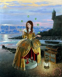 Showtime 2016 Limited Edition Print by Michael Cheval