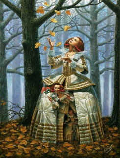 Enigma 2015 Limited Edition Print by Michael Cheval