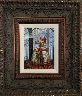 Enigma 2016 Embellished Limited Edition Print by Michael Cheval - 1