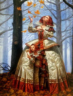 Enigma 2016 Embellished Limited Edition Print by Michael Cheval - 0
