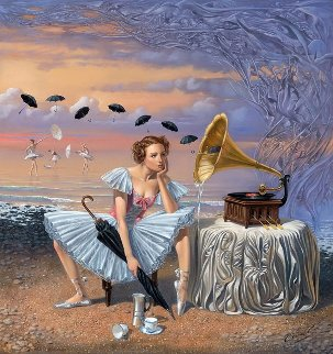Melody of Rain 2016 Limited Edition Print by Michael Cheval