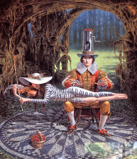 Imagine II Version II 2016 Limited Edition Print by Michael Cheval