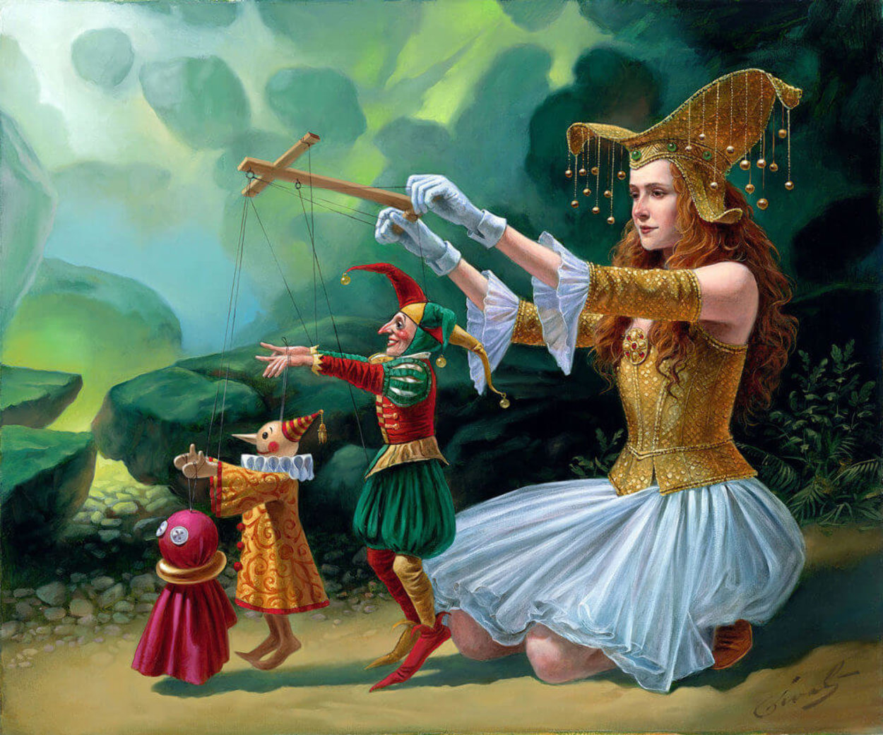 Evolution 2015 Limited Edition Print by Michael Cheval