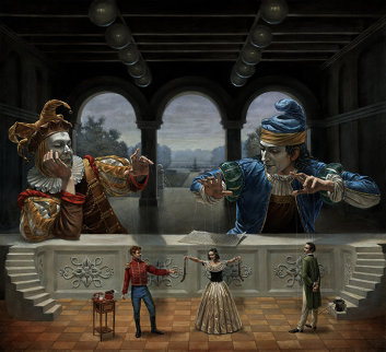 Art of Diplomacy II Limited Edition Print by Michael Cheval